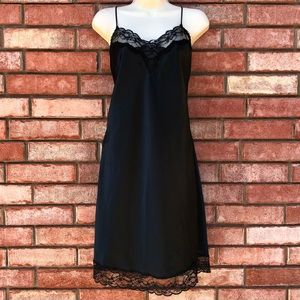 Intimates & Sleepwear - ‼️SOLD‼️Black lace slip/dress/gown.